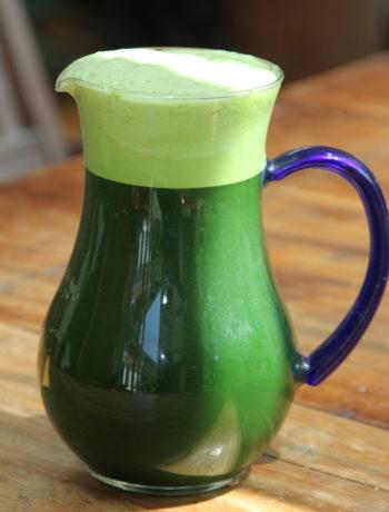 Wheatgrass juice Lon 5